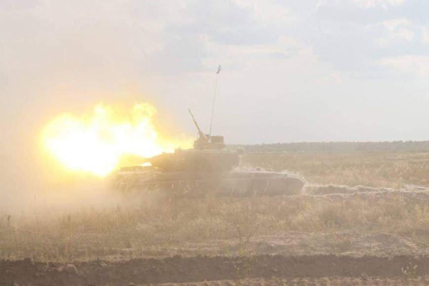 На полигоне в Черниговской области соревновались танкисты (фото), фото-15