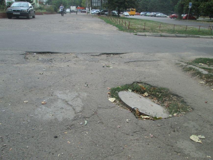 В Одессе пенсионеры жалуются на разбитую улицу (ФОТО), фото-10