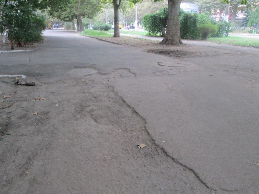 В Одессе пенсионеры жалуются на разбитую улицу (ФОТО), фото-15