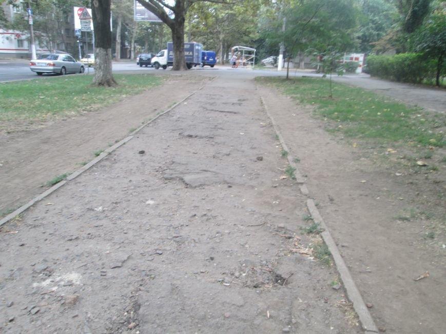В Одессе пенсионеры жалуются на разбитую улицу (ФОТО), фото-7