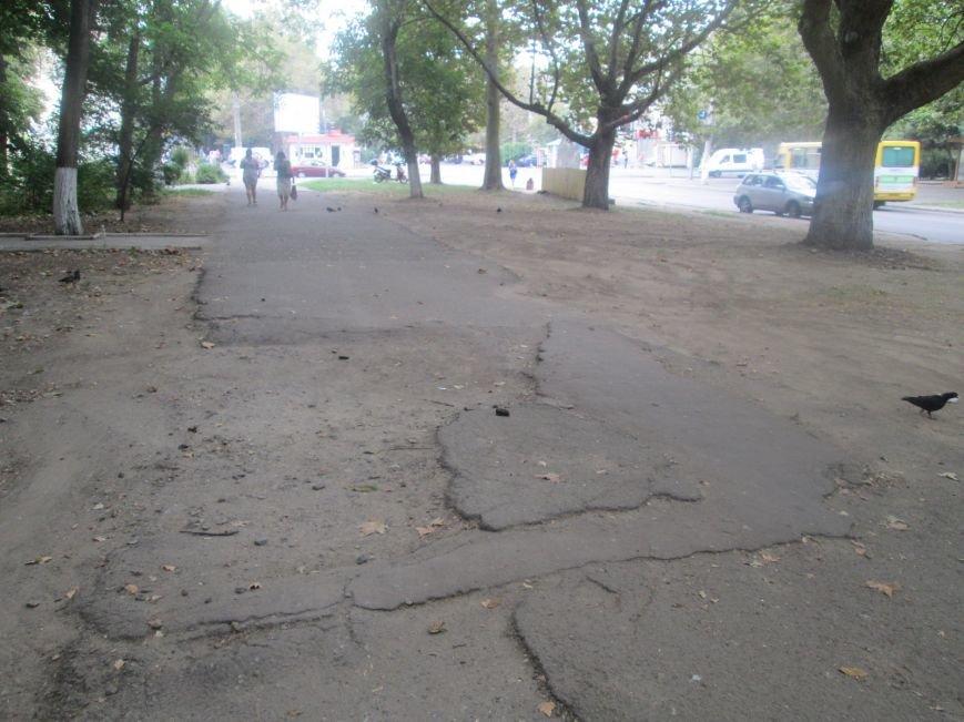В Одессе пенсионеры жалуются на разбитую улицу (ФОТО), фото-14