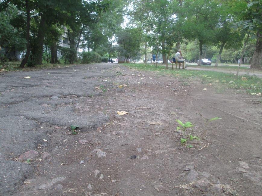 В Одессе пенсионеры жалуются на разбитую улицу (ФОТО), фото-1