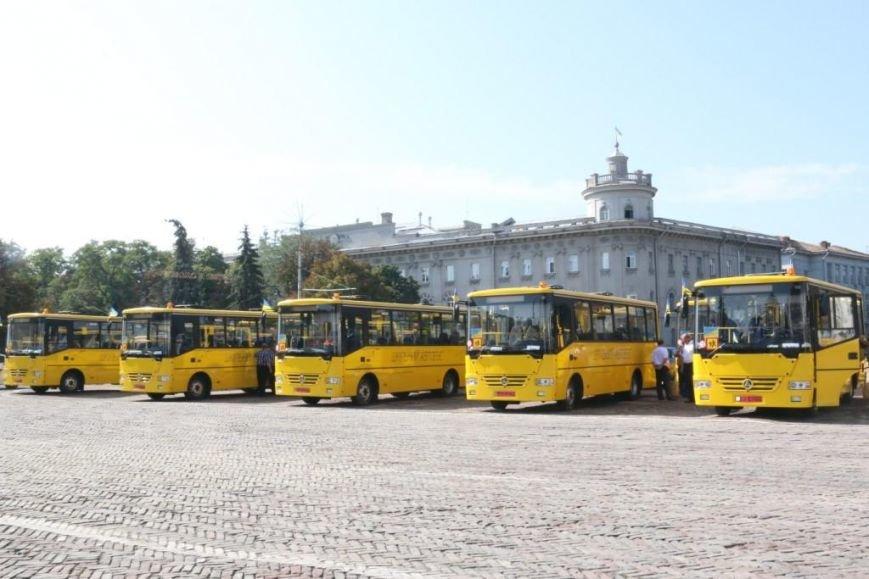 Школьники Черниговщины получили новые автобусы, фото-5