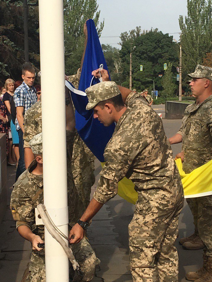 В Кривом Роге торжественно подняли Государственный Флаг Украины (ФОТО), фото-3
