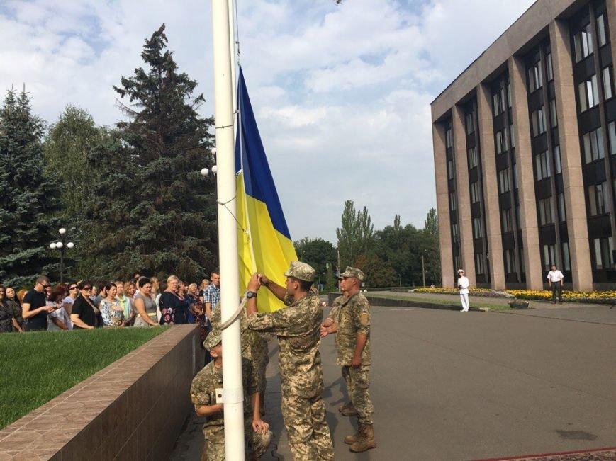 В Кривом Роге торжественно подняли Государственный Флаг Украины (ФОТО), фото-2