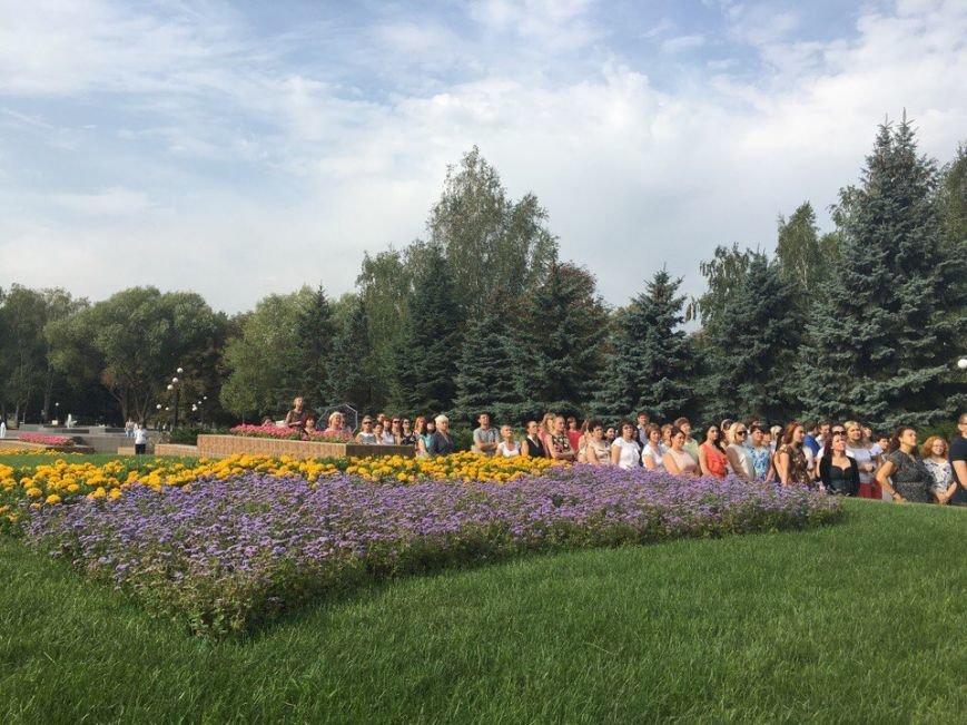 В Кривом Роге торжественно подняли Государственный Флаг Украины (ФОТО), фото-11