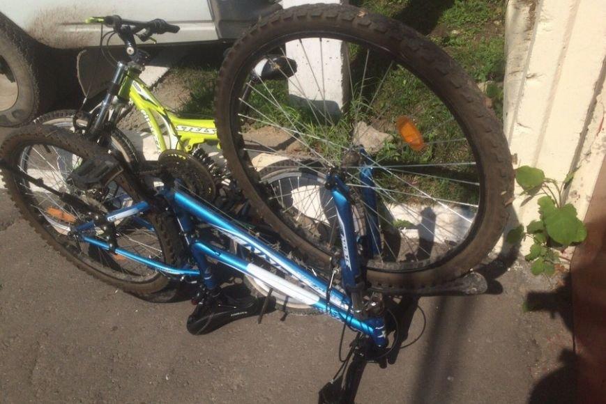 В Домодедово задержан вор велосипедов, фото-1