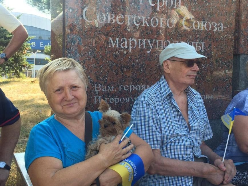 В Мариуполе губернатор поднял Государственный флаг Украины (ФОТО, ВИДЕО), фото-9