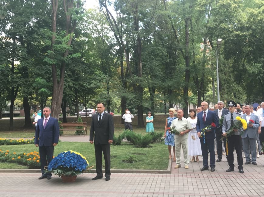 В День Государственного флага в Кривом Роге почтили память бойцов, погибших за Независимость Украины (ФОТО), фото-1