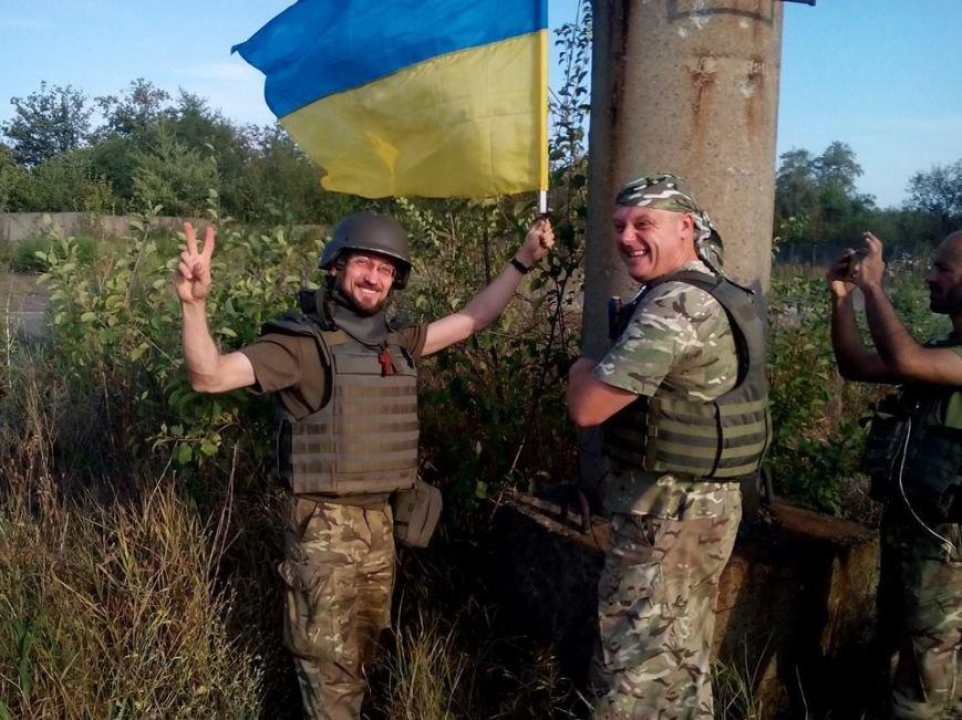 Над Авдеевской промкой подняли флаг Украины (ФОТО), фото-3