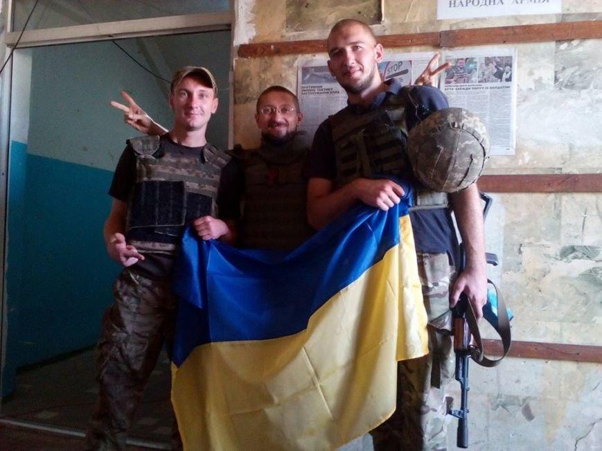 Над Авдеевской промкой подняли флаг Украины (ФОТО), фото-2