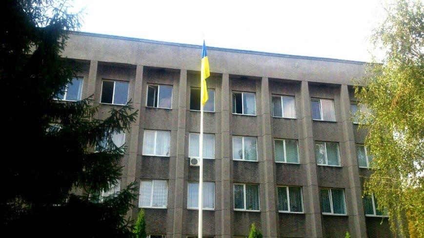 В Терновском районе подняли Флаг Украины: Это наше знамя, окропленное кровью лучших сыновей Украины (ФОТО), фото-7
