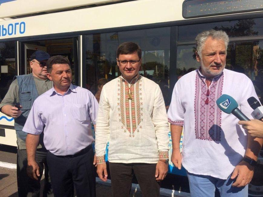 Мариупольские власти получили четыре новых троллейбуса (ФОТО, ВИДЕО), фото-5