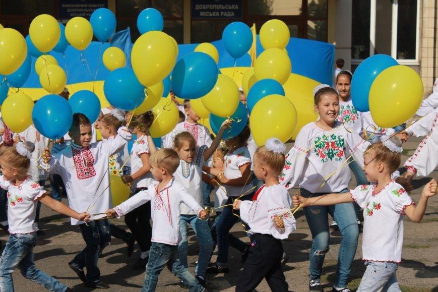 В Доброполье отметили День флага, фото-5