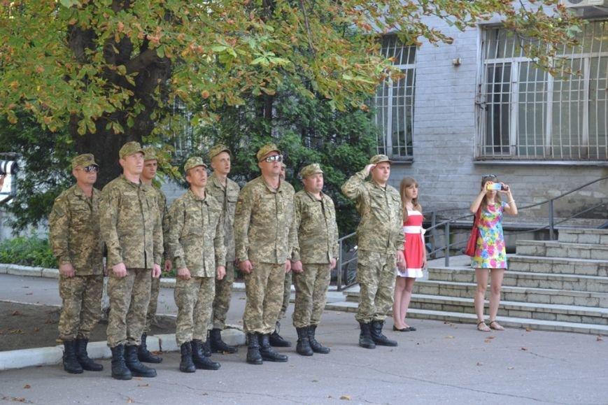 Как отпраздновали День Государственного флага в Добропольской РГА, фото-3