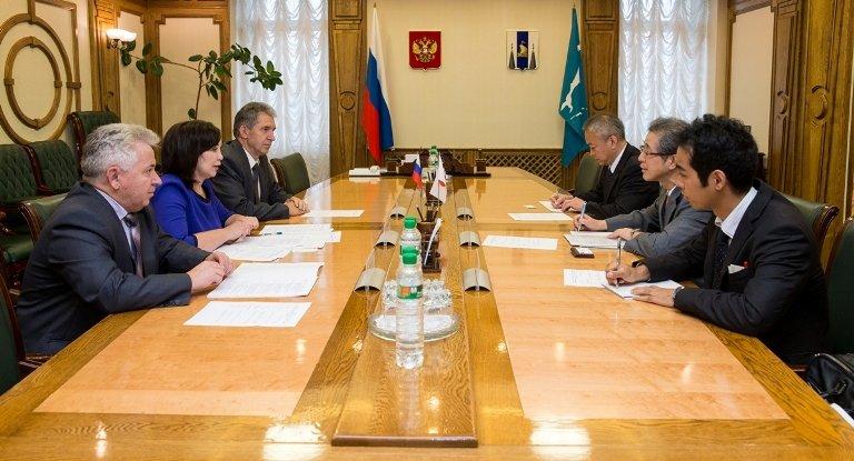 Японский консул встретился с председателем правительства Сахалинской области, фото-1