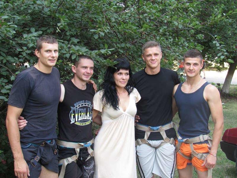 В Краматорске прошли соревнования по урбанистическому альпинизму, фото-3