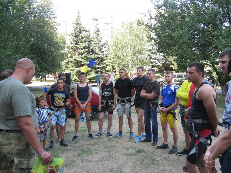 В Краматорске прошли соревнования по урбанистическому альпинизму, фото-5