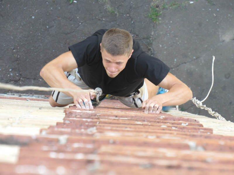 В Краматорске прошли соревнования по урбанистическому альпинизму, фото-4