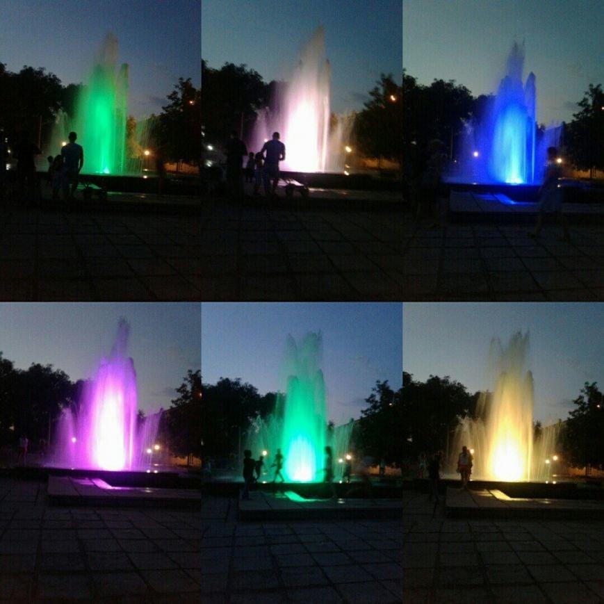 В Южном районе Каменского запустили фонтан с новой зоной отдыха, фото-4