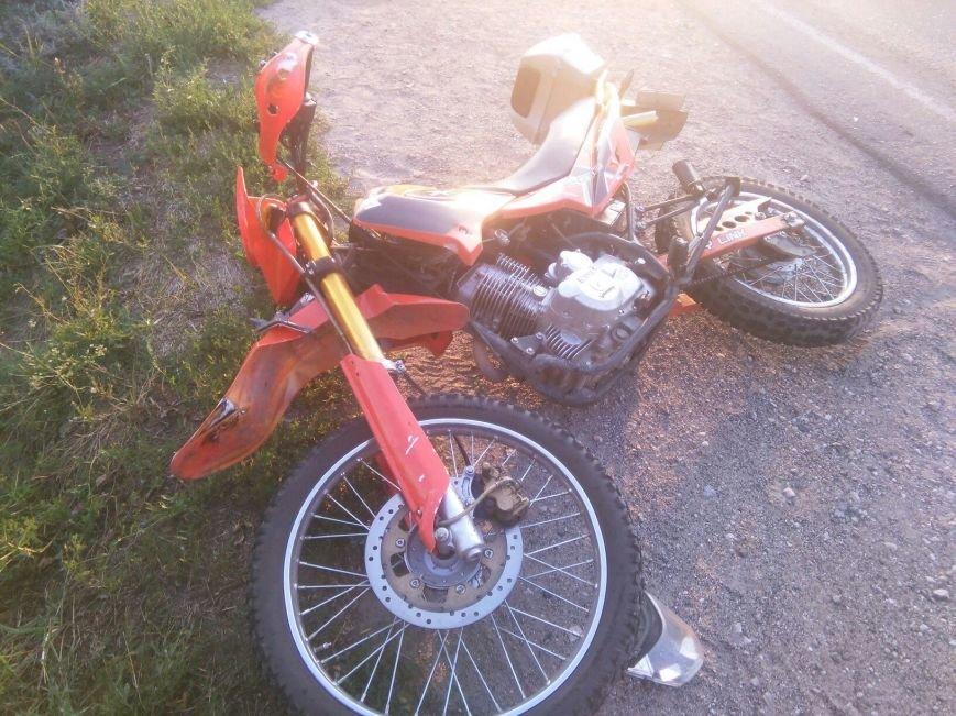 Смертельное ДТП под Каменским возле Елизаветовского котлована: мотоциклист сбил пешехода, фото-3