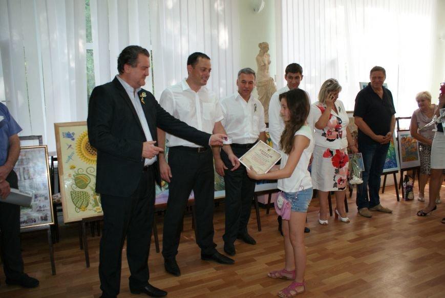 В Каменском подвели итоги Всеукраинского интернет-конкурса детского рисунка, фото-7