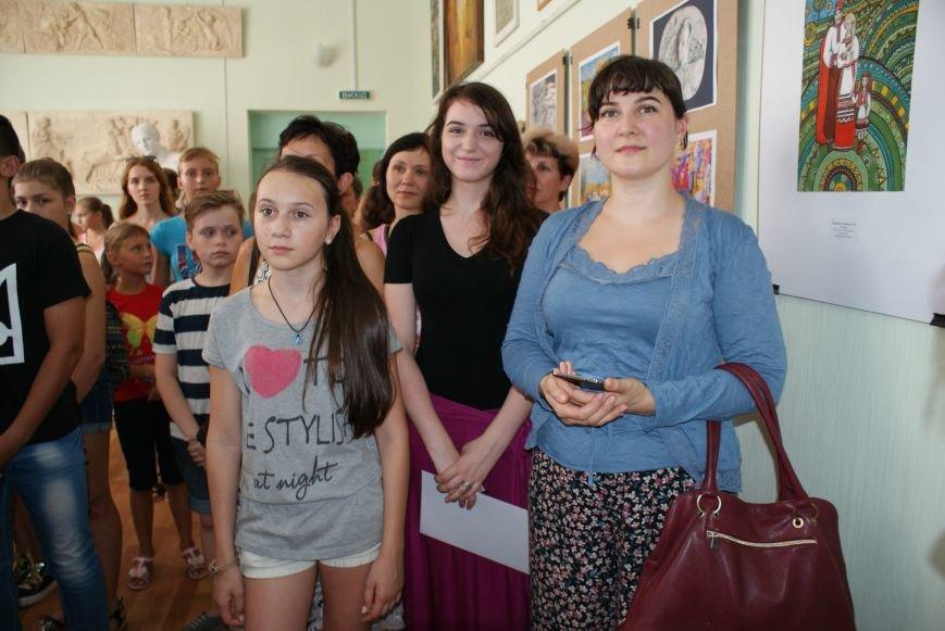 В Каменском подвели итоги Всеукраинского интернет-конкурса детского рисунка, фото-6
