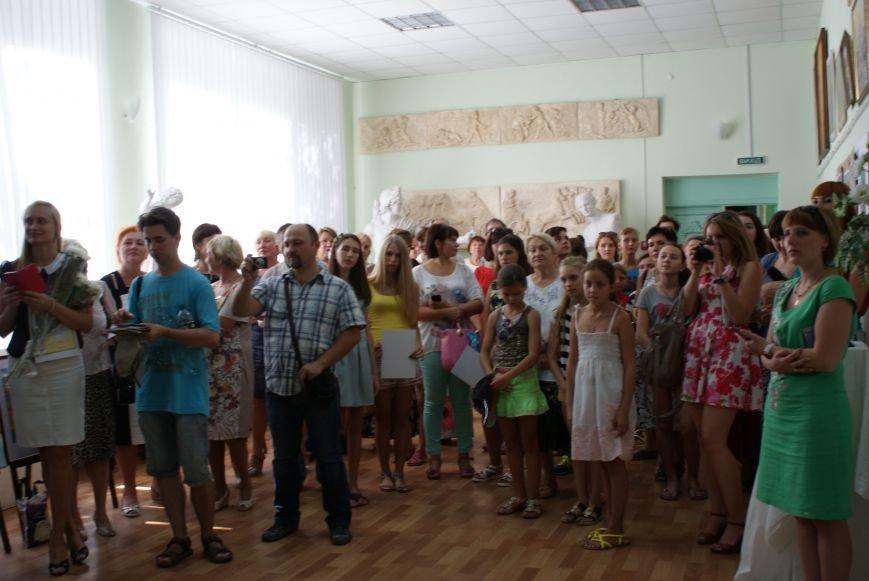 В Каменском подвели итоги Всеукраинского интернет-конкурса детского рисунка, фото-4
