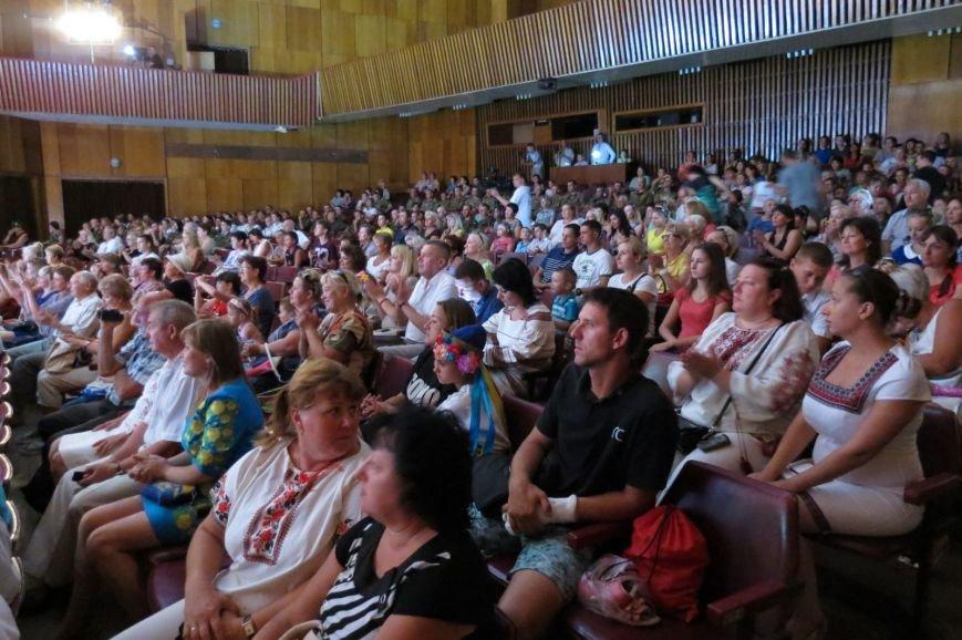 Концерт «Украина – это ты!» завершил торжества по случаю Дня государственного флага в Бердянске, фото-2