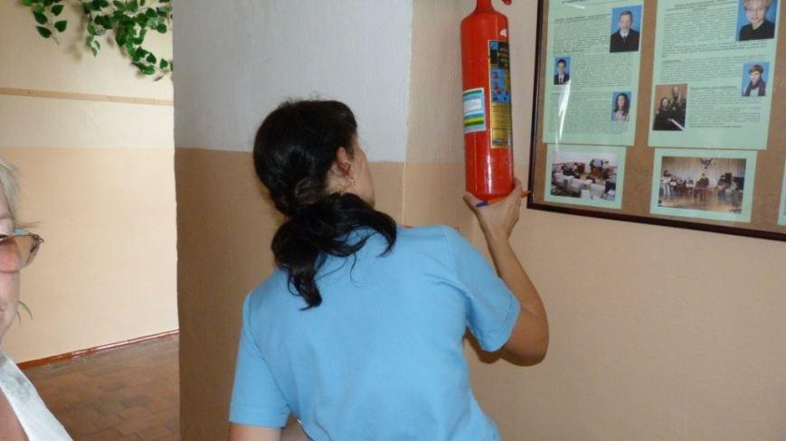 Пожарная безопасность учреждений образования Ялтинского региона на контроле МЧС, фото-2