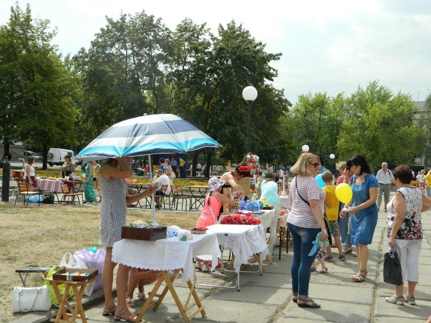 День независимости Украины объединяет краматорчан, фото-4