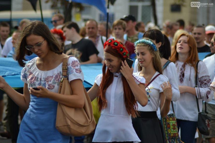В Каменском состоялся Марш Независимости, фото-8