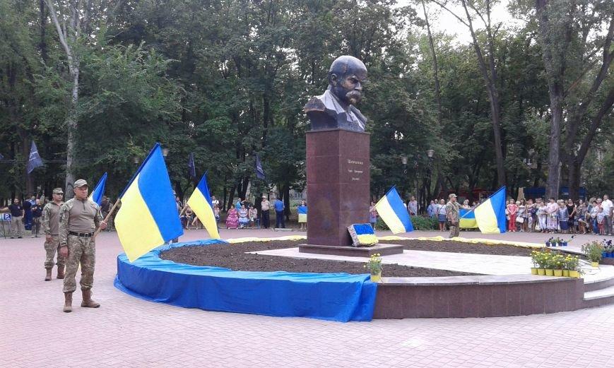 В Авдеевке презентовали отреставрированный памятник  Великому Кобзарю (ФОТО), фото-6