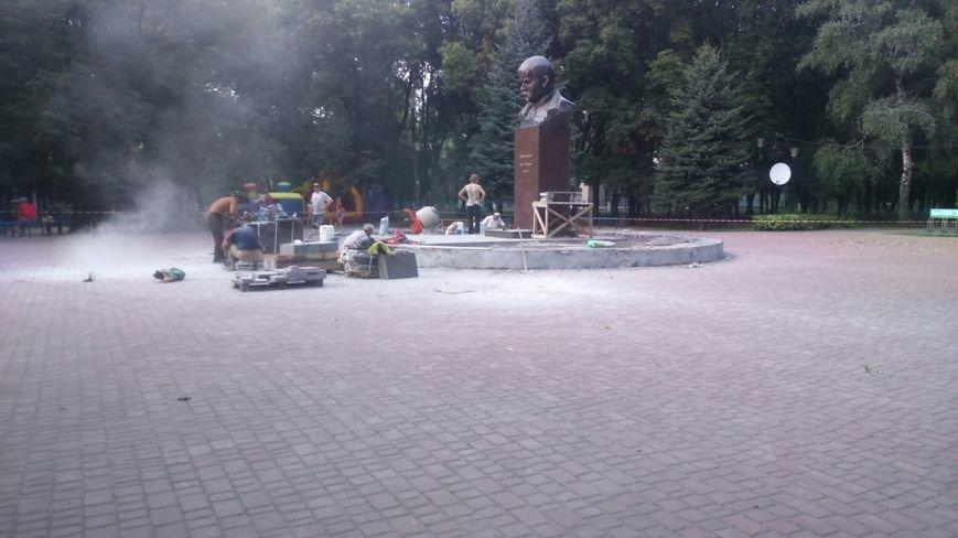 В Авдеевке презентовали отреставрированный памятник  Великому Кобзарю (ФОТО), фото-4