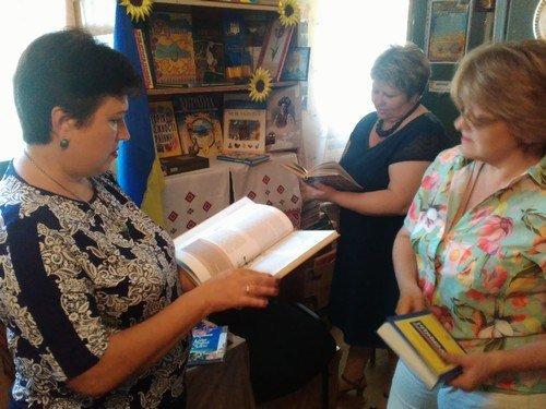 В библиотеках Авдеевки  проходят тематические выставки ко Дню Независимости Украины (ФОТО), фото-4