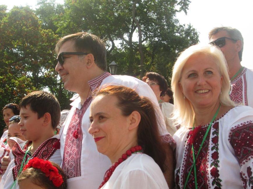 В Одессе на Потемкинской лестнице собралось рекордное количество украинцев в вишиванках (ФОТО, ВИДЕО), фото-15