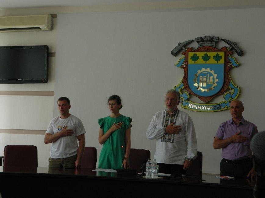 В Краматорске Жебривский пообщался с молодежью, фото-1