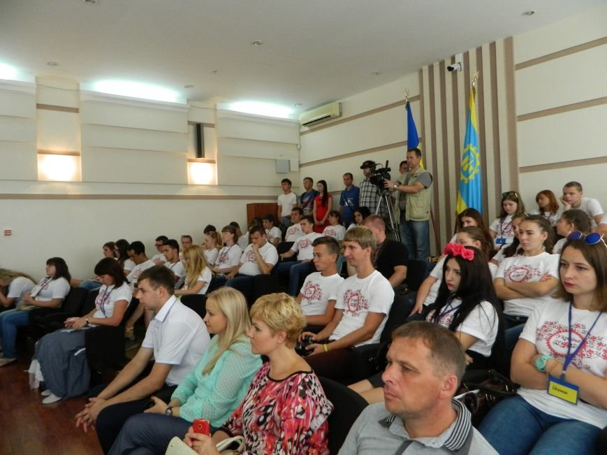 В Краматорске Жебривский пообщался с молодежью, фото-4