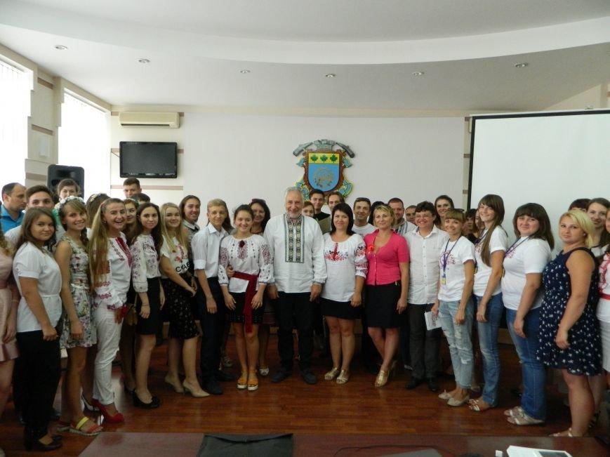 В Краматорске Жебривский пообщался с молодежью, фото-8