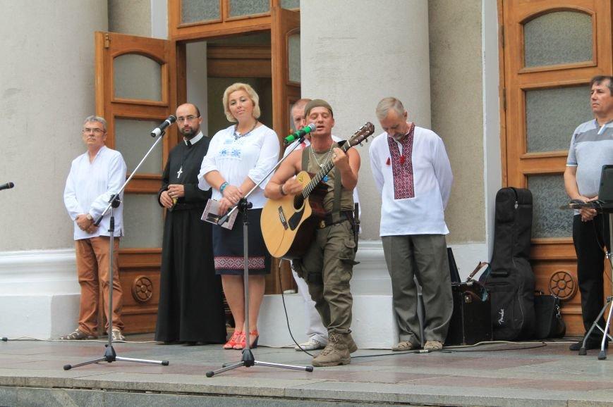 Бахмутчане ярко отметили День независимости Украины (ФОТООТЧЕТ), фото-8