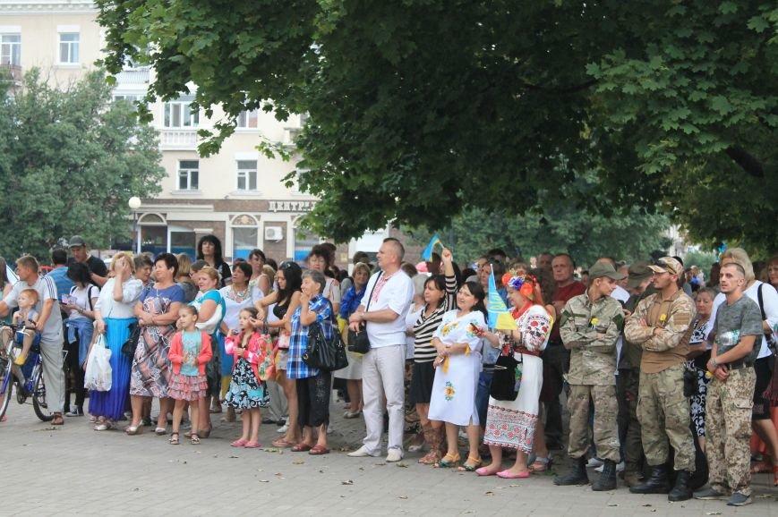 Бахмутчане ярко отметили День независимости Украины (ФОТООТЧЕТ), фото-14