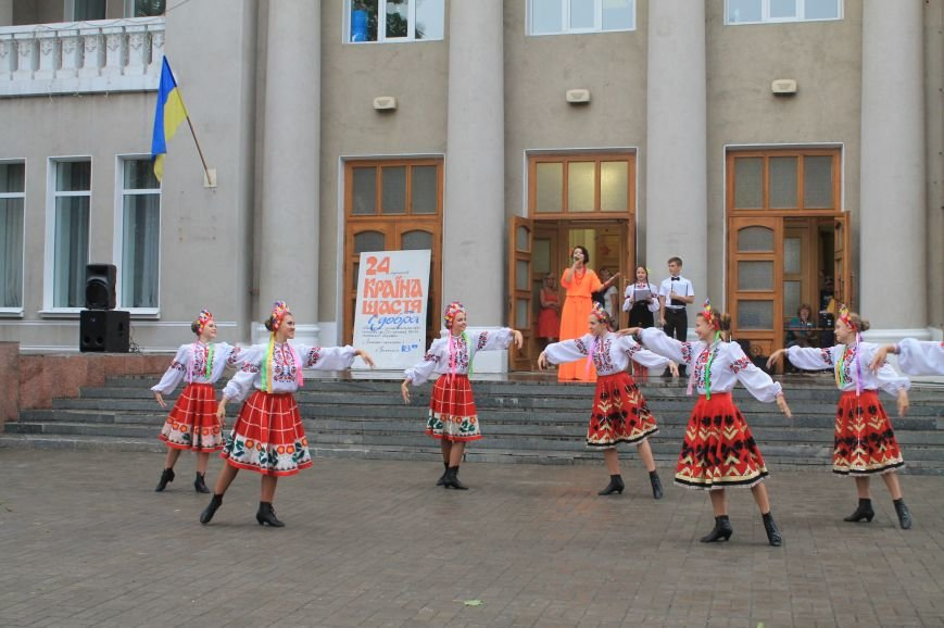 Бахмутчане ярко отметили День независимости Украины (ФОТООТЧЕТ), фото-13