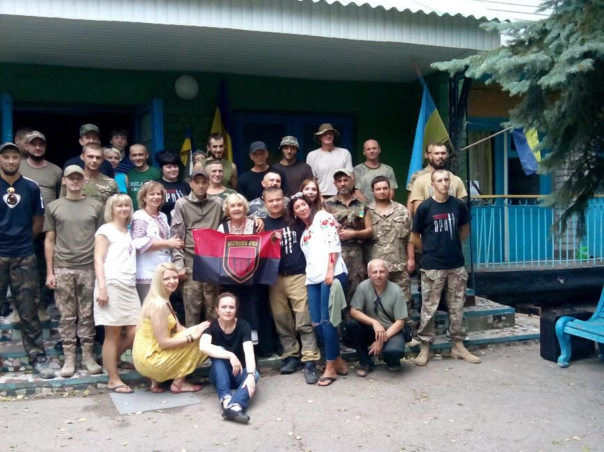 Криворожане в добробате отметили День независимости с Адой Роговцевой (ФОТО), фото-1