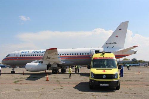 Из Симферополя в Москву спецбортом доставили тяжелобольную пациентку (ФОТО), фото-1