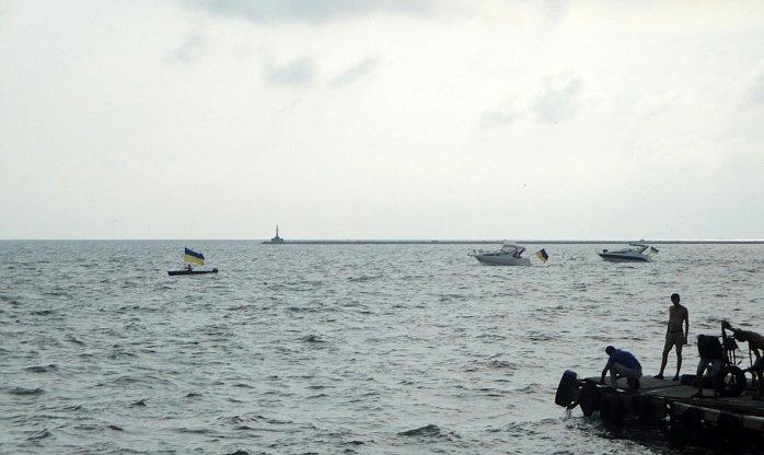 "В Бердянске День независимости отметили и на «аквамайдане"", фото-5"