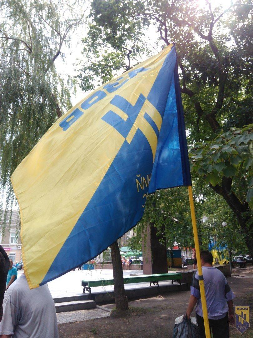 В Бердянске провели фотовыставку, посвященную бойцам полка «АЗОВ», фото-5