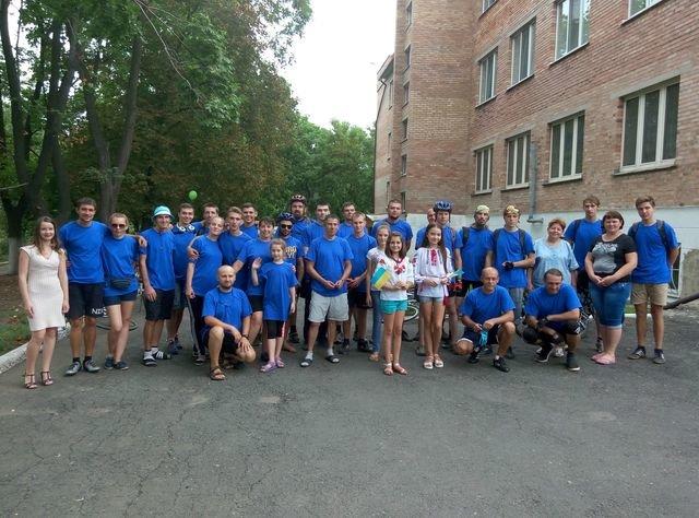 Добропольские велосипедисты отметили 25-летие независимости Украины, фото-4