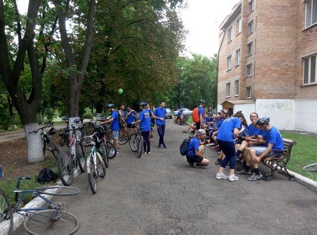 Добропольские велосипедисты отметили 25-летие независимости Украины, фото-3