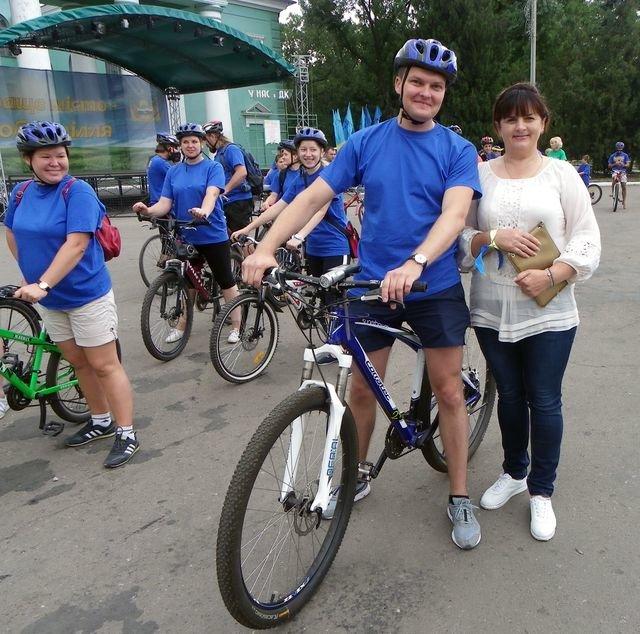 Добропольские велосипедисты отметили 25-летие независимости Украины, фото-2