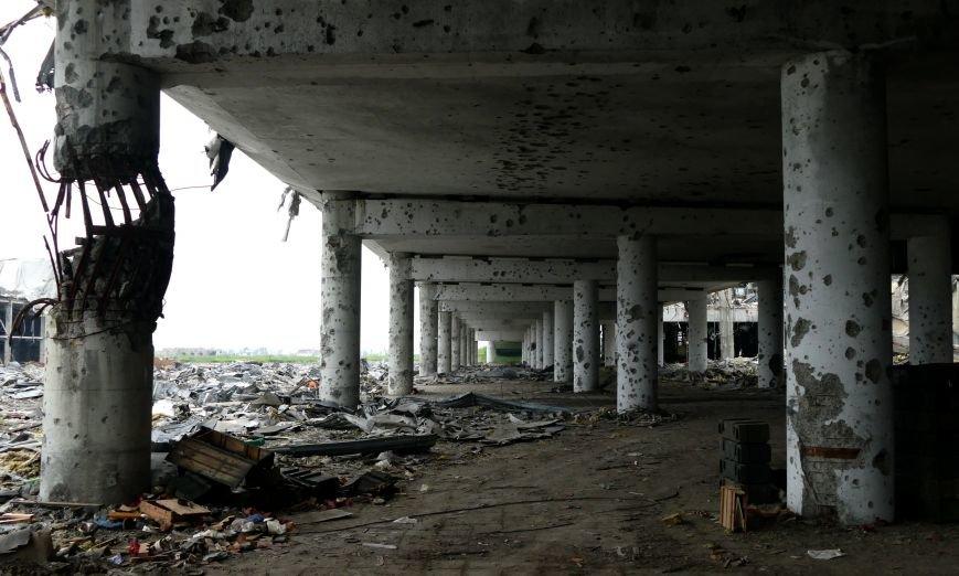 Руины Донецкого аэропорта  - август 2016 года (ФОТО), фото-4